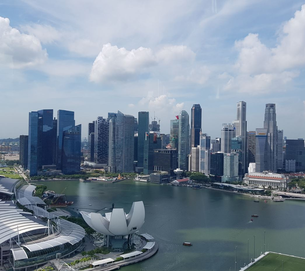 Singapore Marina Bay Financial District 2017